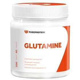 Глютамин GLUTAMINE, зеленое яблоко 200 г.