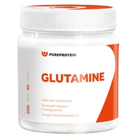 Глютамин GLUTAMINE, лесные ягоды 200 г.