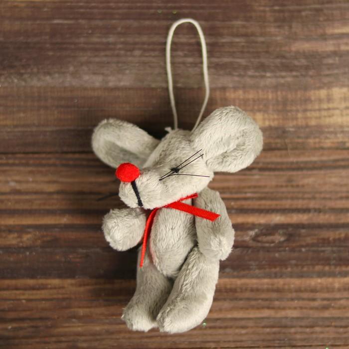 """Мягкая игрушка-подвеска """"Мышка""""    R-9664AB"""