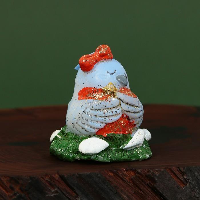 Свеча рождественская «Снегирь» - фото 798325565