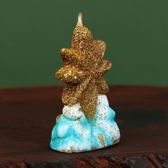 Свеча рождественская «Сияющая звезда»
