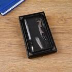 Набор подарочный 3в1 (ручка, кусачки, открывалка-штопор) - фото 8873466