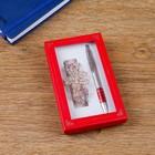Набор подарочный 2в1 (ручка, заколка)