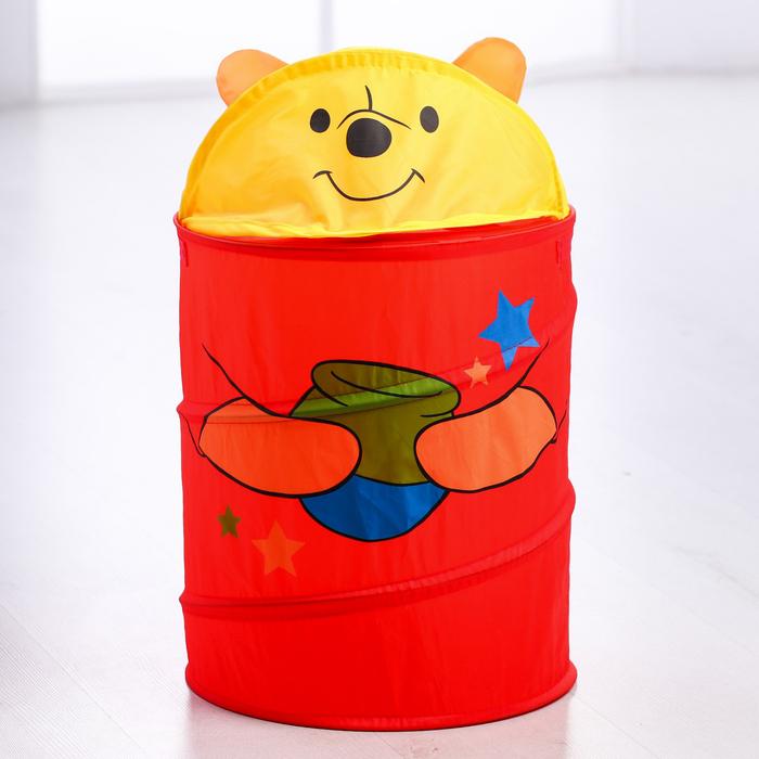 "Корзина для игрушек ""Мои игрушки"" Медвежонок - фото 105493268"