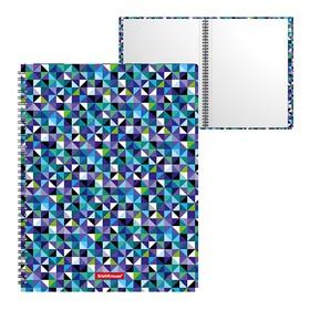 Папка на спирали А4, 20 прозрачных вкладышей, Erich Krause Cubes