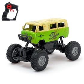 Машина радиоуправляемая «Джип-триал», 4WD полный привод, с аккумулятором