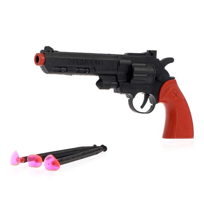 Пистолет «Рево», стреляет присосками