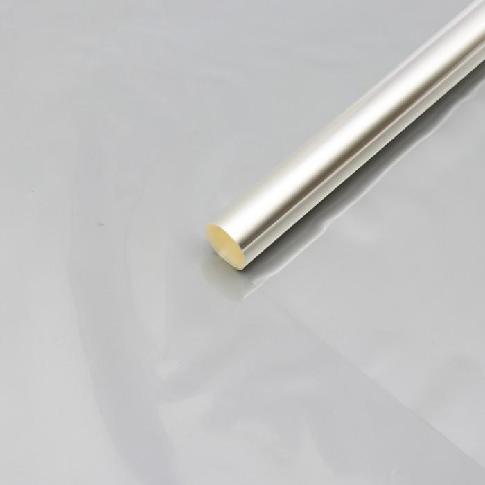 Пленка для цветов прозрачная 0,5 х 22 м, 400 г, 40 мкм