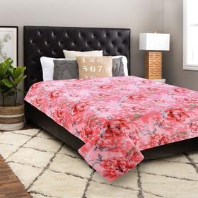 Плед, размер 150 × 200 см, цвет розовый