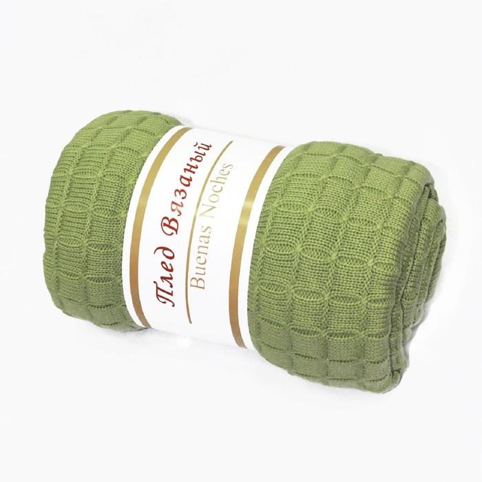 Плед SV lta2, размер 130 × 160 см, цвет зелёный
