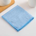 """Салфетка из микрофибры 30×30 см Голубушка """"Универсальная"""", 220 гр/м2, цвет МИКС"""