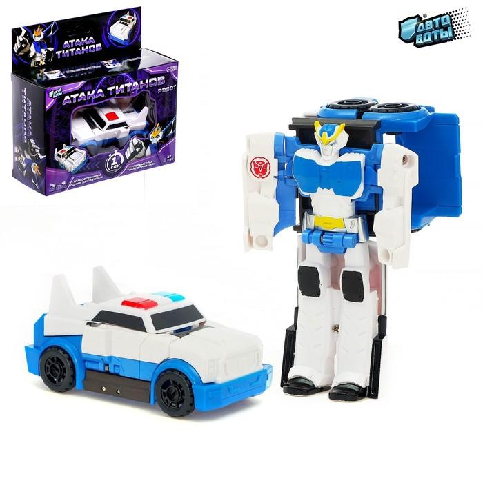 Робот «Полицейский», трансформируется одним движением - фото 105506000