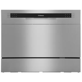 Посудомоечная машина Hansa ZWM 536 SH, класс А+, 6 комплектов, 6.5 л, 6 программ, серая