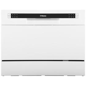 Посудомоечная машина Hansa ZWM 536 WH, класс А+, 6 комплектов, 6.5 л, 6 программ, белая
