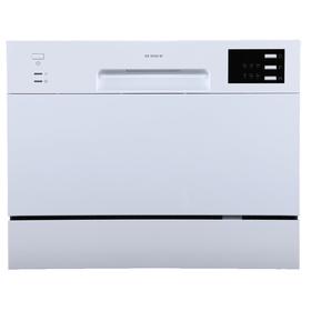 Посудомоечная машина Midea MCFD55320W, класс А+, 6 комплектов, 6 программ, белая