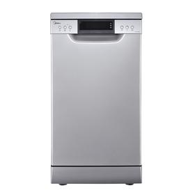 Посудомоечная машина Midea MFD45S500S, класс А++, 10 комплектов, 8 л, 8 программ, серебрист.