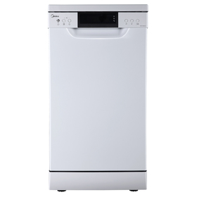 Посудомоечная машина Midea MFD45S500W, класс А++, 10 комплектов, 8 программ, белая