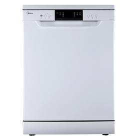 Посудомоечная машина Midea MFD60S320W, класс А++, 14 комплектов, 11 л, 7 программ, белая