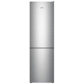 """Холодильник """"Атлант"""" 4624-141, класс А+, 361 л, двухкамерный, серебристый"""