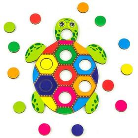 Мозаика «Рыба и черепаха» d кружочка: 2 см