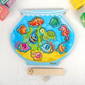 Магнитная рыбалка для детей «Аквариум»