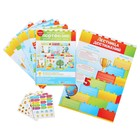 Набор для оформления портфолио с наклейками, для ученика начальной школы