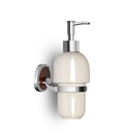Дозатор для жидкого мыла, керамика, хром LT13109