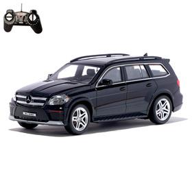 Машина радиоуправляемая Mercedes-Benz GL550, масштаб 1:18, работает от аккумулятора, световые эффекты, цвет чёрный