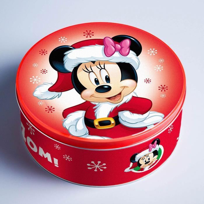 Коробка подарочная жестяная «Счастливого Нового года!», Микки Маус, МИКС