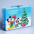 Коробка подарочная жестяная «Новогоднее настроение», Микки Маус