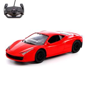 Car RC Coupe, powered by batteries, MIX