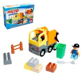 """Block designer """"Garbage truck"""", 14 parts"""
