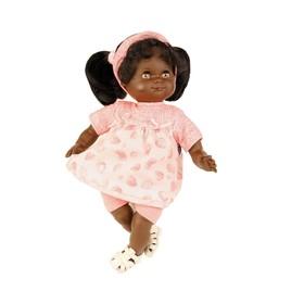 Кукла мягконабивная «Санни», темнокожая, 32 см