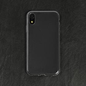 Чехол LuazON, для телефона iPhone XR, силиконовый, тонкий, прозрачный Ош