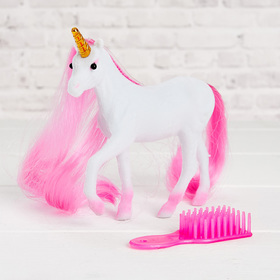 "Horse ""Unicorn"" with accessories, MIX"