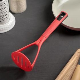 The pestle Mak 25 cm, color red