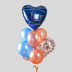 """A bouquet of balloons """"Heart"""""""