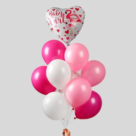 """A bouquet of balloons """"Pink flamingos"""""""