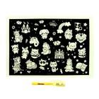 Набор для творчества «Рисунки светом» на магнитной основе, для девочек - фото 105591293