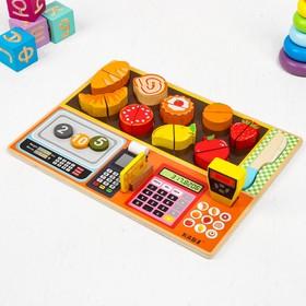 Игрушка развивающая «Мини-магазинчик» 3х31х23 см