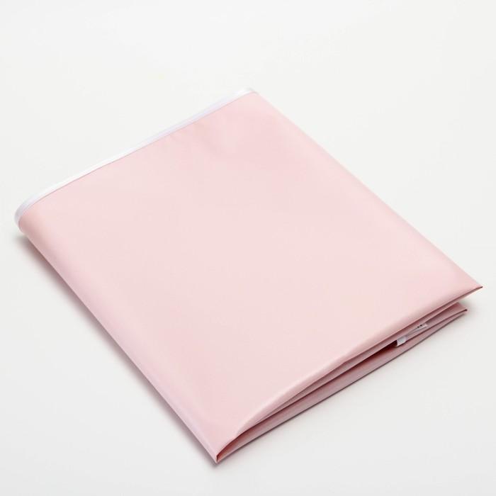 Клеёнка с ПВХ-покрытием, 48х60 см, цвета МИКС