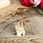 "Decorative figurine ""Puppy Jack Russell Terrier"" 6 cm"