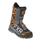 Ботинки FXR Helium Lite BOA с утеплителем, размер 49, чёрный, серый, оранжевый