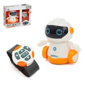 Робот радиоуправляемый «Глазастик», световые эффекты, работает от батареек Ош