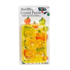 Mini 3D puzzle crystal Fruit mix