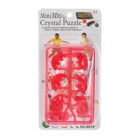 Мини-пазл 3D кристаллический «Мяч», цвета МИКС