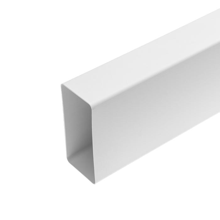 Канал вентиляционный VENTS 7015, прямоугольный, 120 х 60 мм, 1,5 м