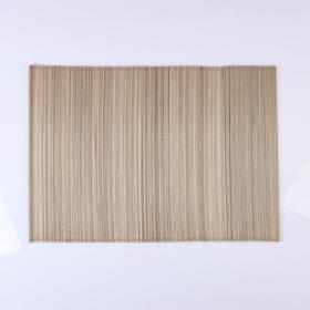 Cloth woven with stripes, beige, 30x40, bamboo