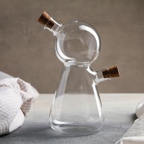 Бутыль «2 в 1» для соусов и масла «Утёнок», 12×9×18 см