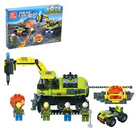 Конструктор Геологи «Буровой трактор», 328 деталей